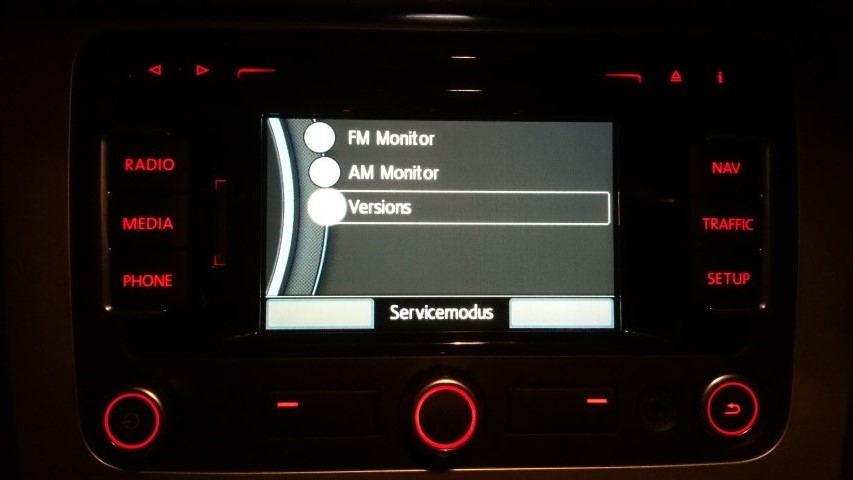 Rns 315 V.5 Map Update 13 service_mode